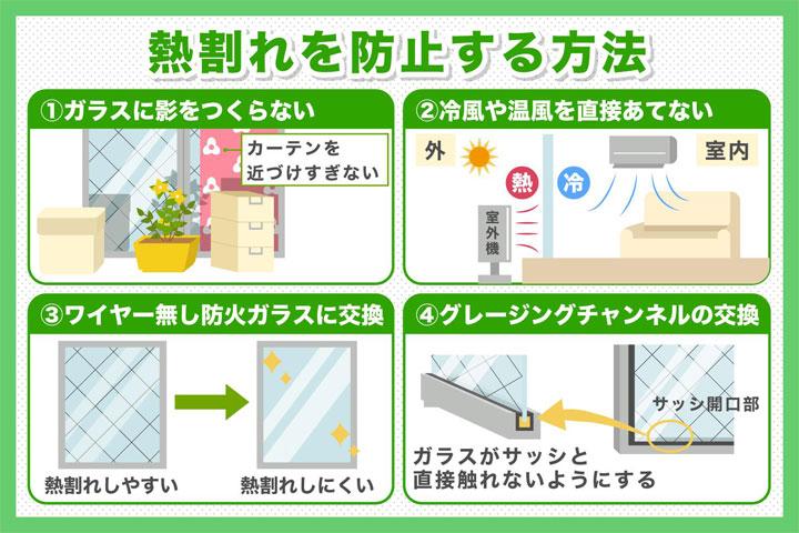熱割れを防止する方法